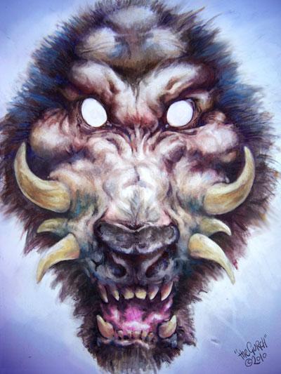 Werewolf-Pig by the Gurch