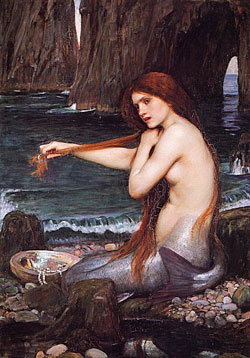 Mermaid Mythology as seen by John Waterhouse