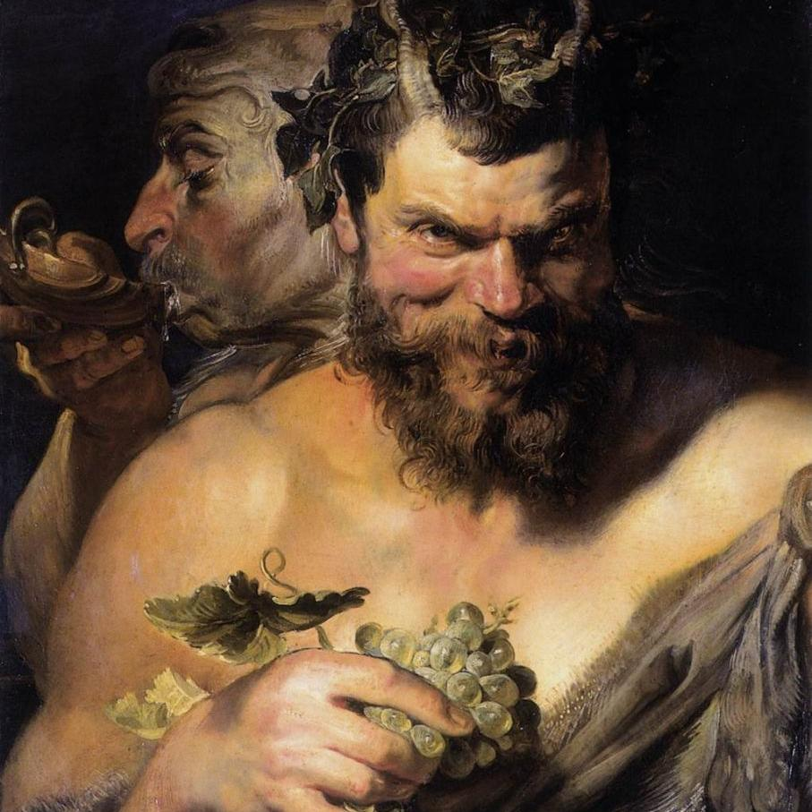 the god of wine and grape harvest dionysus
