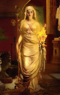 Greek Mythology Hestia Goddess of the Hearth
