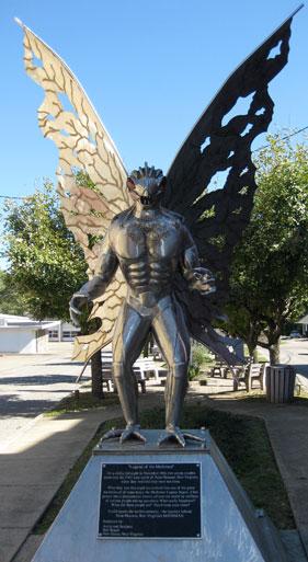 Actual Mothman Statue