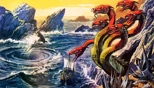 Scylla Greek Mythology Monster