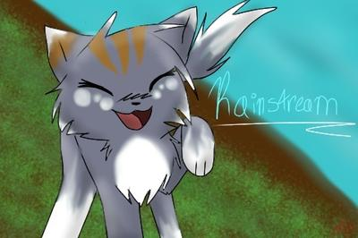 This is stream as a cat. I draw cats a lot...
