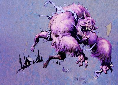 The Werewolf Thief by the Gurch