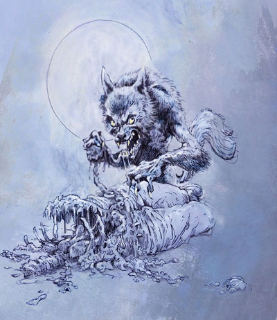 Werewolves Are Messy Eaters by the Gurch